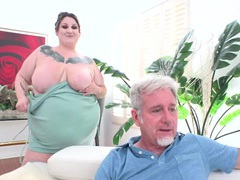 Big tits for dinner with bbw heady betty, BBW videos