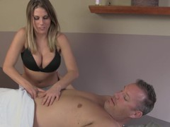 Lucky man gets pleasured by two babes during an amateur massage, Threesome, FFM, Hardcore, Glasses, Massage, Bra, Shorts, Blowjob, Handjob, Clothed Sex, MILF movies at find-best-pussy.com