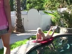 Closeup video of pussy eating between ash hollywood and riley jensen, Lesbian, Pornstars, Bikini, Pool, Tattoo, Natural Tits, Pussy Licking, Pussy, Toys, Vibrator videos