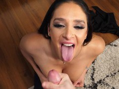 Dude with a large dick gets sucked by adorable sheena ryder, Couple, Hardcore, HD POV, Brunettes, Long Hair, Pornstars, Blowjob, Handjob, Ball Licking, Titjob, Cougars videos