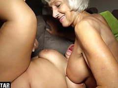 Grandma gets fucked – granddaughter going crazy, Blowjob, Cumshot, Teen (18+), Big Boobs, Squirting, Old &,  Young, Granny, German, HD Videos, Saggy Tits, Fucking, Threesome, Mature Women, Grandma, Threesome Sex, Getting Fucked, Grandma Fucking,  videos