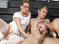 Spitroasted wife wants more, Anal, Blowjob, Mature, Bisexual, Old &,  Young, Cuckold, HD Videos, Doggy Style, GILF, Threesome, Cheating Wife, Anal Fuck, Full Hd, Vagina Fuck, Bi Anal, Doggystyle, Aged, Bi Threesome, Bi Cuckold, Bisexual Blowjob, Handsj movies at freekilomovies.com