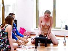 Girls watch their friend try out a new toy, Lesbian, HD Videos, Friends, Girl Masturbating, Watching, Girls Watching, Try Outs, Friends Watch, Girl movies at freekilosex.com