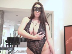 Provocative wife angela white in kinky lingerie having wild sex, Couple, Hardcore, Pornstars, MILF, Lingerie, Brunettes, Long Hair, Curvy, Big Tits, Natural Tits, Titjob, Doggystyle, Anal, Pussy, Shaved Pussy, Cowgirl, Asshole, Cumshot, Cum On Tits, House videos