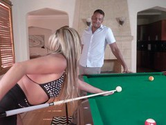 Hardcore fucking on the pool table with hot ass tucker stevens, Couple, Hardcore, Pornstars, MILF, Long Hair, Pussy, Asshole, Natural Tits, Pussy Licking, Missionary, Shaved Pussy, High Heels, Cowgirl videos
