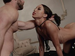 Hardcore fucking with small boobs cutie alexis tae ends with cum on puss, Couple, Hardcore, Brunettes, Small Tits, Blowjob, Cowgirl, Missionary, Leather, High Heels, Doggystyle, Cumshot videos