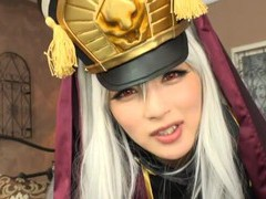 Kinky japanese porn video with sexy hakii haruka in cosplay videos