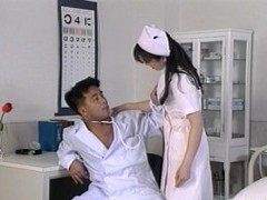 Asian nurse eri ueno with an amazing ass gets fucked on the bed videos
