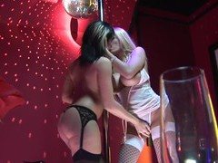 Busty strippers brooke haven and michelle thorne lick each other, Lesbian, Lingerie, Stockings, Pornstars, Pussy Licking, Pussy, Fingering, High Heels, Big Tits, Fake Tits, Long Hair videos