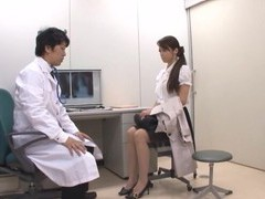 Naughty japanese chick maki hokujo enjoys licking his balls videos