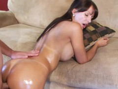 Catalina cruz oil makes me cum everytime i use, Couple, Hardcore, Pornstars, MILF, Brunettes, Long Hair, Bra, Thong, Big Tits, Fake Tits, Cowgirl, Doggystyle, Anal videos