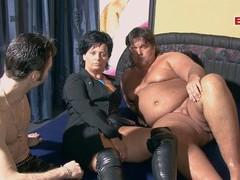 German housewife amateur swinger party, Mature, German videos