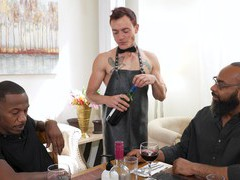 Gay dude enjoys getting his ass fucked by two black studs movies at kilopills.com