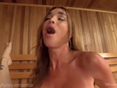 Two sauna strangers anal creampie movies at find-best-videos.com
