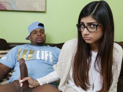 Mia khalifa - she's never tried big black dick before, so she asks rico videos