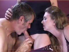 Cock sucking creampie cleaning cuckold hubby movies at find-best-babes.com