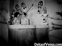 Authentic vintage porn 1930s - ffm threesome tubes