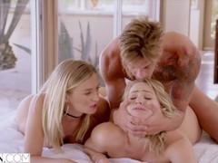 Vixen mia malkova and natalia starr share a huge cock!! movies