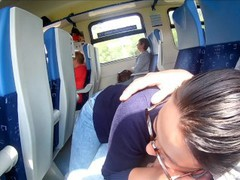 Extreme in train : public blowjob and cum in mouth movies at find-best-babes.com
