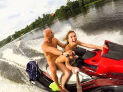 Public anal ride on the jet ski in the city centre. mia bandini movies at nastyadult.info