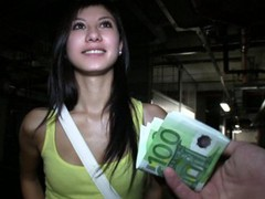 Cute brunette student trades sex for some extra cash movies