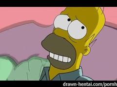 Simpsons porn - homer fucks marge videos