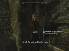 Skyrim: sex with astrid (testing her loyalty to her husband) movies at kilomatures.com