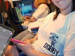 Il mio amico controlla il mio dildo bluetooth sul treno finchè io... movies at nastyadult.info
