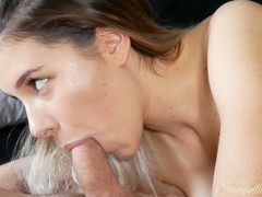 4k mind-blowing tongue and suction bj! watch his cock pumping cum!, Amateur, Babe, Big Tits, Blowjob, Teen (18+), British, Verified Amateurs, Old/Young movies
