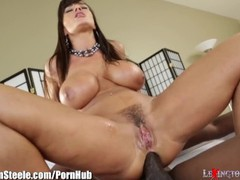 Lisa ann fucked by lexington steele's 11 inch black cock, Interracial, Pornstar, Anal, Italian movies at find-best-panties.com