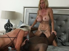Black piped sally d'angelo brooke tyler videos