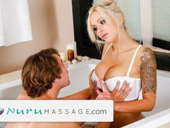 Nurumassage stepson fully serviced by stepmom full sceneee, Big Tits, Blonde, MILF, Pornstar, Popular With Women, Massage, Exclusive movies at find-best-babes.com