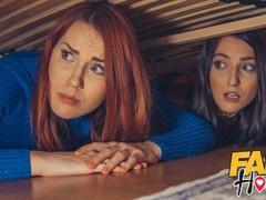 Fake hostel stuck under a bed 2 halloween porn special, Big Ass, Babe, Big Dick, Blowjob, Hardcore, Pornstar, Threesome tubes