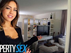 Propertysex real estate agent gets horny and makes sex video with client tubes