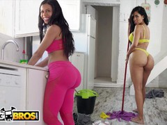 Bangbros - big booty maid canela skin gets fucked by pablo ferrari, Big Ass, Brunette, Hardcore, Latina, Pornstar, Reality, Anal, POV, Popular With Women, Role Play videos