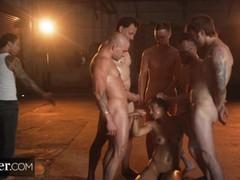 Deeper. brooklyn gray's five cock bukkake fantasy, Brunette, Blowjob, Bukkake, Pornstar, Rough Sex, Gangbang, Pussy Licking tubes