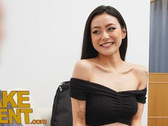 Fake agent asian babe rae lil black fucked on the casting couch movies at find-best-videos.com