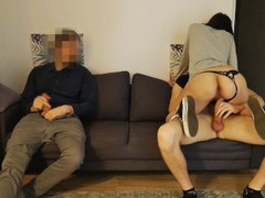 He shared hisgirlfriend with friend at the party, Amateur, Blowjob, Threesome, College, Russian, Exclusive, Verified Amateurs, Cuckold movies at freekiloporn.com