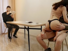Wife fucking business partner in front of husband, Amateur, Blowjob, Threesome, Russian, Exclusive, Verified Amateurs, Cuckold movies at nastyadult.info