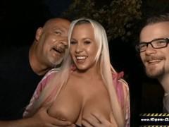 Ihr cuckold idiot filmt wie ich sie auf der party vor allen gästen ficke, Amateur, Big Tits, Blonde, Blowjob, Party, Threesome, German, Verified Amateurs, Cuckold tubes