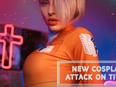 Kinky dope cosplay sex scene based on the attack on titan manga, Blowjob, Handjob, Pornstar, Teen (18+), POV, Rough Sex, Verified Models, Cosplay movies at kilovideos.com