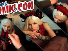 Comic con sex with cosplayer girl, Babe, Blonde, Blowjob, Pornstar, POV, Rough Sex, Verified Models, Cosplay movies at find-best-videos.com