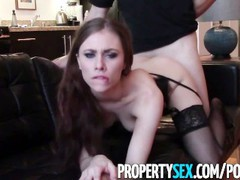 Propertysex - cherry picking real estate agent takes client's virginity, Hardcore, Pornstar, Funny, POV, Small Tits, Popular With Women movies at freekiloclips.com