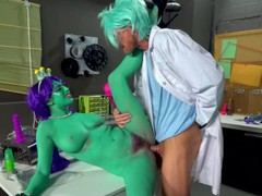 Rick and morty porn parody: dick and morty, Babe, Big Tits, Hardcore, Pornstar, Funny, Parody, Cosplay videos