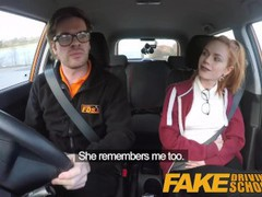 Fake driving school cute redhead ella hughes fucks and eats instructors cum, Amateur, Hardcore, Pornstar, Reality, Funny, Red Head videos