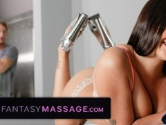 Fantasymassage curvy sister makes step-brother hard, Big Ass, Big Tits, Brunette, Pornstar, Popular With Women, Massage movies at freekiloclips.com