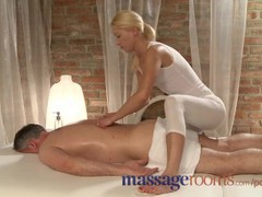Massage rooms masseuse has a squirting orgasm as she rides client hard videos