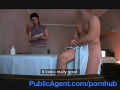 Publicagent fucking the masseur milf, MILF, Reality, POV, Massage movies at freekiloclips.com