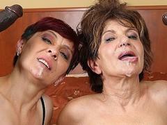 Grannies hardcore fucked interracial porn with old women loving black cocks, Hardcore, Interracial, Mature, Pornstar, Anal, Popular With Women videos