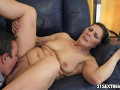 Cock-hungry gilf margo and her newest boy toy, Big Tits, Brunette, Creampie, Mature movies at find-best-pussy.com